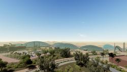 طرح مجتمع تفریحی _ اقامتی در کویر مرنجاب