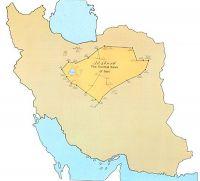 وسعت بیابانهای ایران