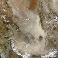 Dasht-e Lut Dust Storm