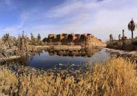 روستایی سبز دردل کویر