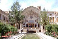 خانه عامری های کاشان؛ وسعت زیبایی