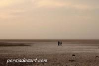دریاچه نمک(آران وبیدگل-کویر مرنجاب)عکس:بهزاد استاد