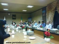 جلسه ای با موضوع احیای گویش محلی آران و بیدگل برگزار شد