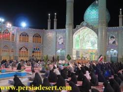 بندگی و ارادت در آستان هلال بن علی(ع) + تصاویر