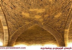 بهره برداری مجدد از کاروانسرای عباسی مرنجاب +گزارش تصویری